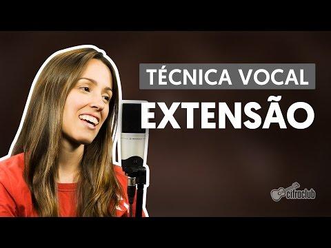 Extensão Vocal – Aula de Canto Grátis Online