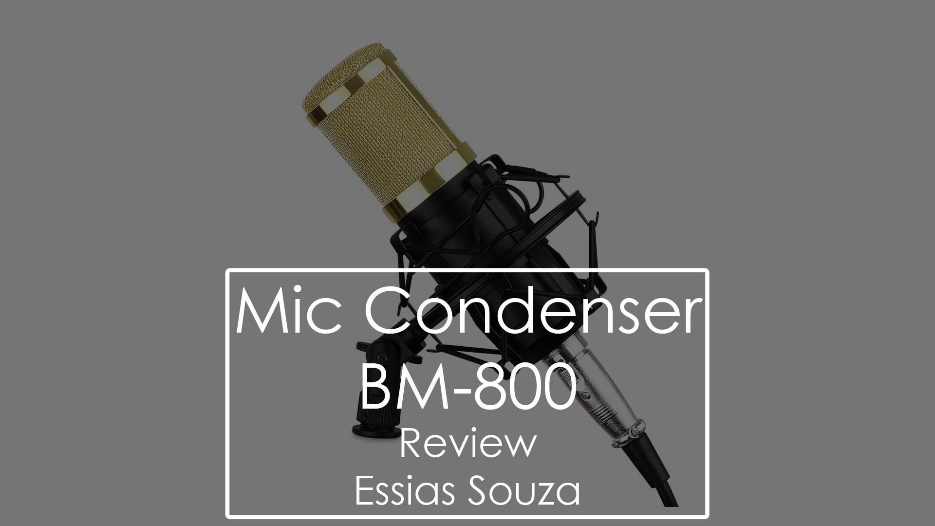 Unboxing – Microfone Condensador – BM800 – Aliexpress