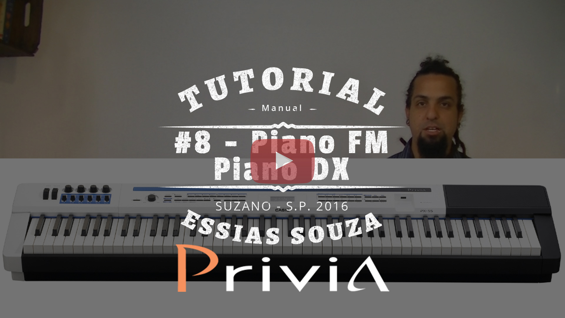 Tutorial Casio Privia PX 5S #8 – Stage Settings – Pianos FM e DX