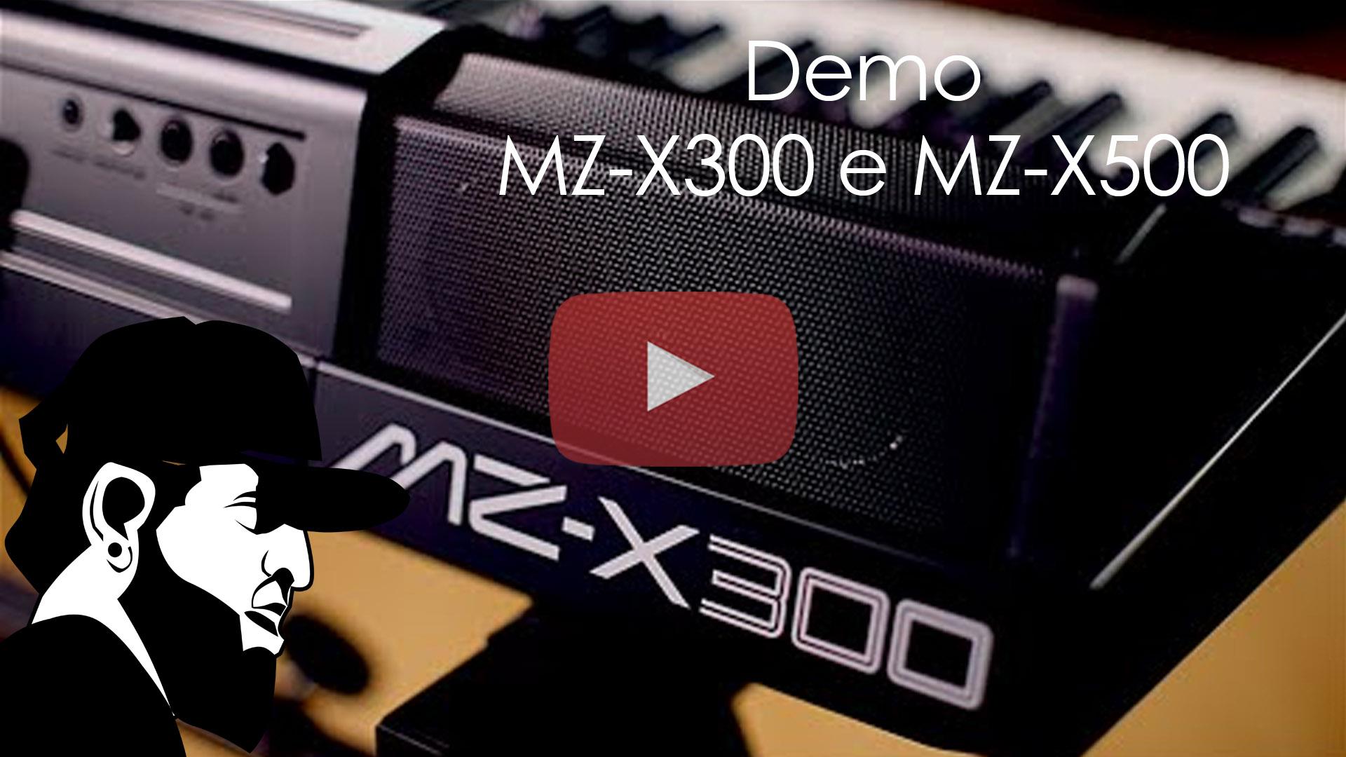 Demo – Arranjador Casio MZ-X300 e MZ-X500
