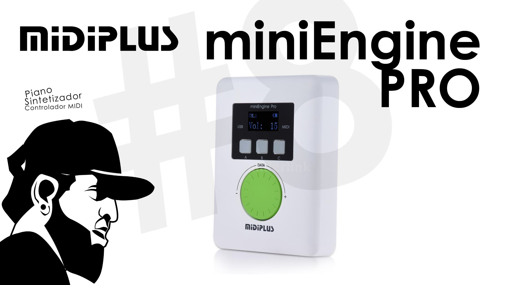 Teclado De Baixo Custo #8 – MIDIPLUS Lança o miniEngine PRO (Novidade)
