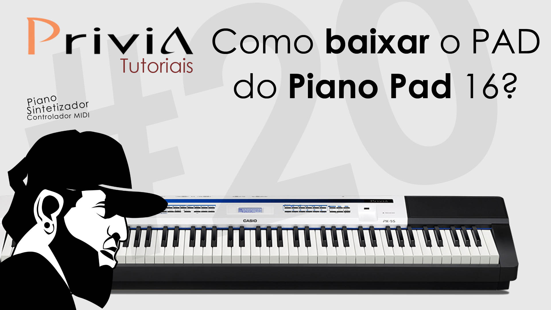 Como Baixar o Volume do Pad (Piano Pad 16) – Casio Data Editor – Privia PX-5S