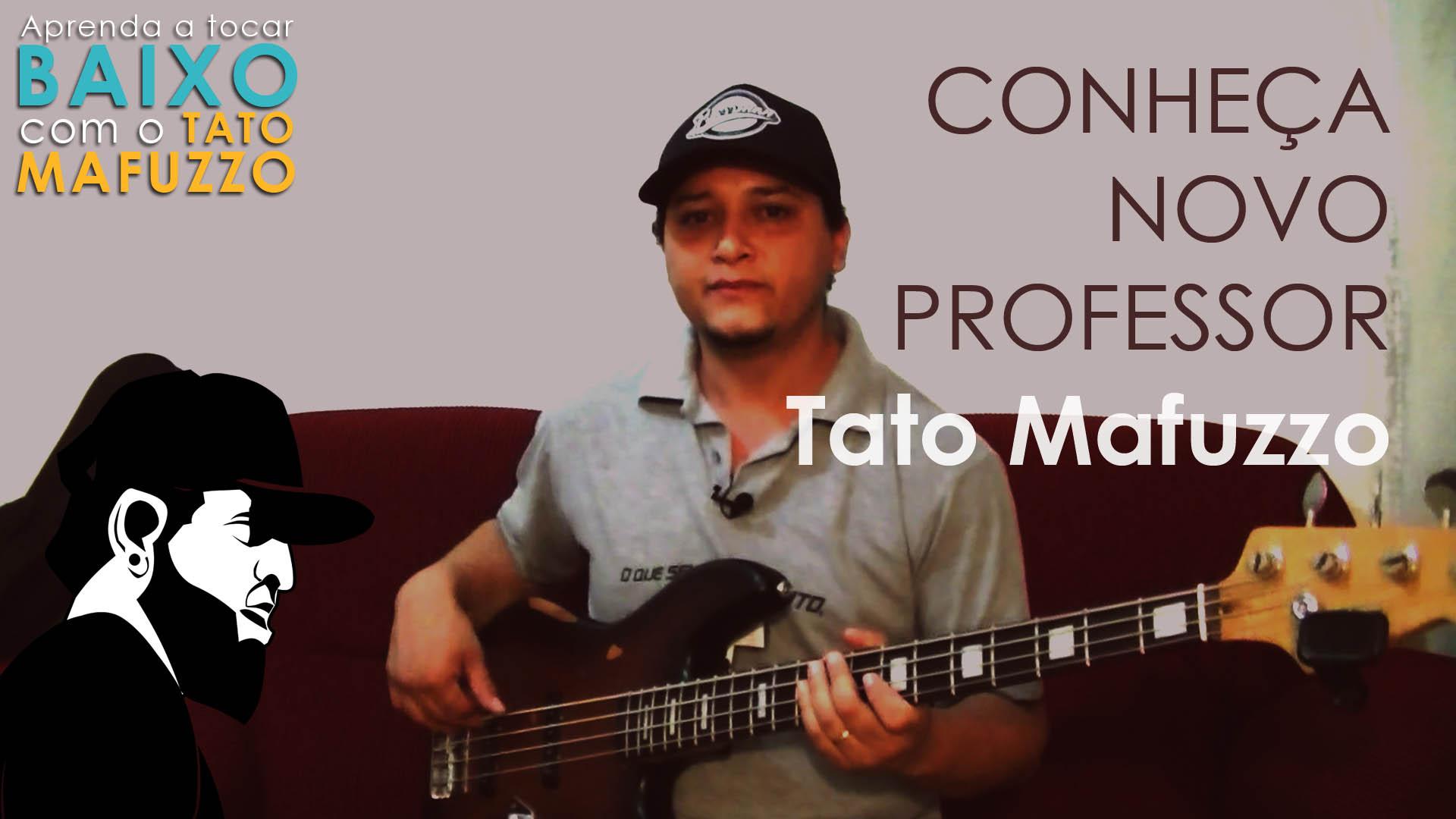 Apresentação do Professor Tato Mafuzzo (Aula de Contrabaixo Iniciante)