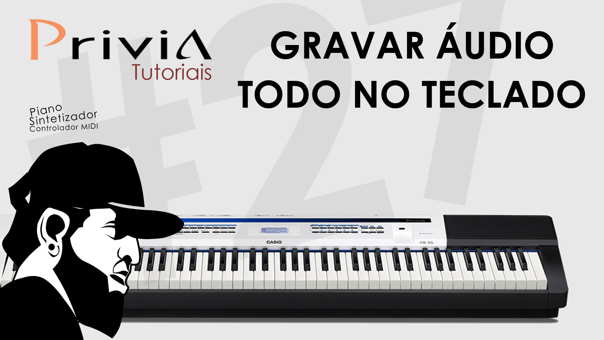 Como Gravar Audio No Pendrive | Tutorial Casio Privia PX-5S