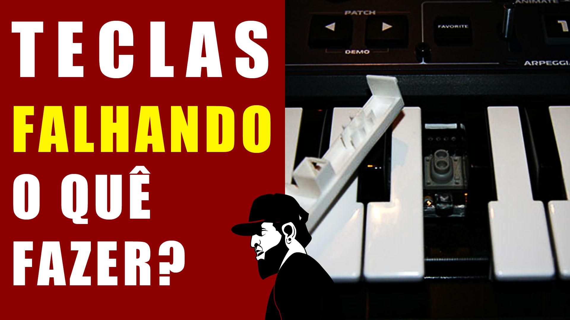 Tecla Do Teclado Musical Não Funciona (Resolvido)