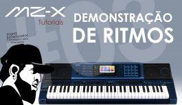 Demonstração de Ritmos | Tudo Sobre O Casio MZ-X500