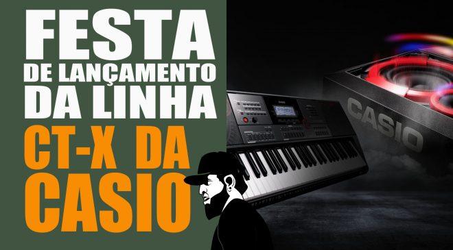 25c502a734e Festa de Lançamento Da Linha CT-X da Casio