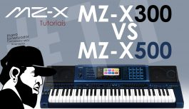Comparativo MZ-X300 VS MZ-X500 | Casio MZ-X500 #11