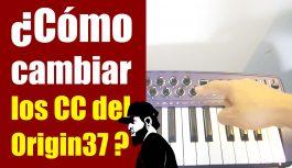 Como Alterar Os CC Do MIDIPLUS Origin 37 (Espanhol) | Tudo Sobre Teclado Musical #27