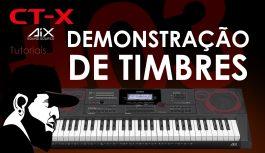 Demonstração de Timbres | Casio CT-X5000 #3