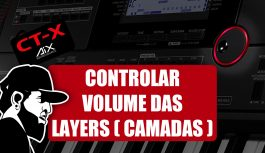 Como Controlar O Volume (Split) | Casio CT-X5000 (CTX5000EP08)