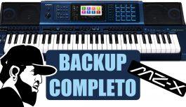 Como Fazer Backup Completo (Restaurar) | Casio MZ-X500 (MZXEP14)