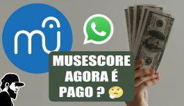 Musescore Agora é Pago e Novo Form de Grupos do WhatsApp | Vlog Essias (VLESEP118)