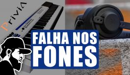 Fone De Ouvido Falhando No Teclado | Casio Privia PX-5S (PX5SEP039)