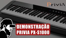 Demonstração Completa | Casio Privia PX-S1000 (PXSMEP02)