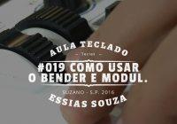 Aula de Teclado #019 – Como Usar o Bender e o Modulation