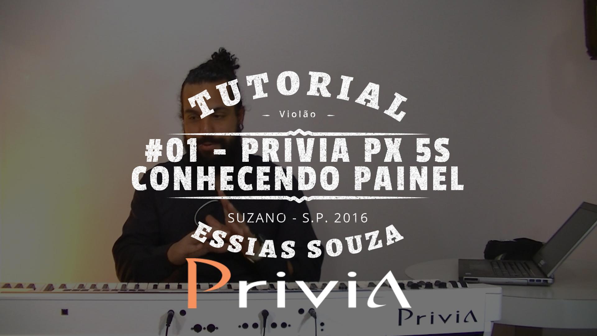Tutorial Casio Privia PX 5S #001 – Conhecendo o Instrumento