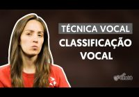 Classificação Vocal – Técnica Vocal – Aula de Canto Online Grátis