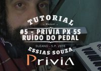 Tutorial Casio Privia PX 5S #5 – Como Tirar O Barulho Do Pedal de Sustain (Damper)