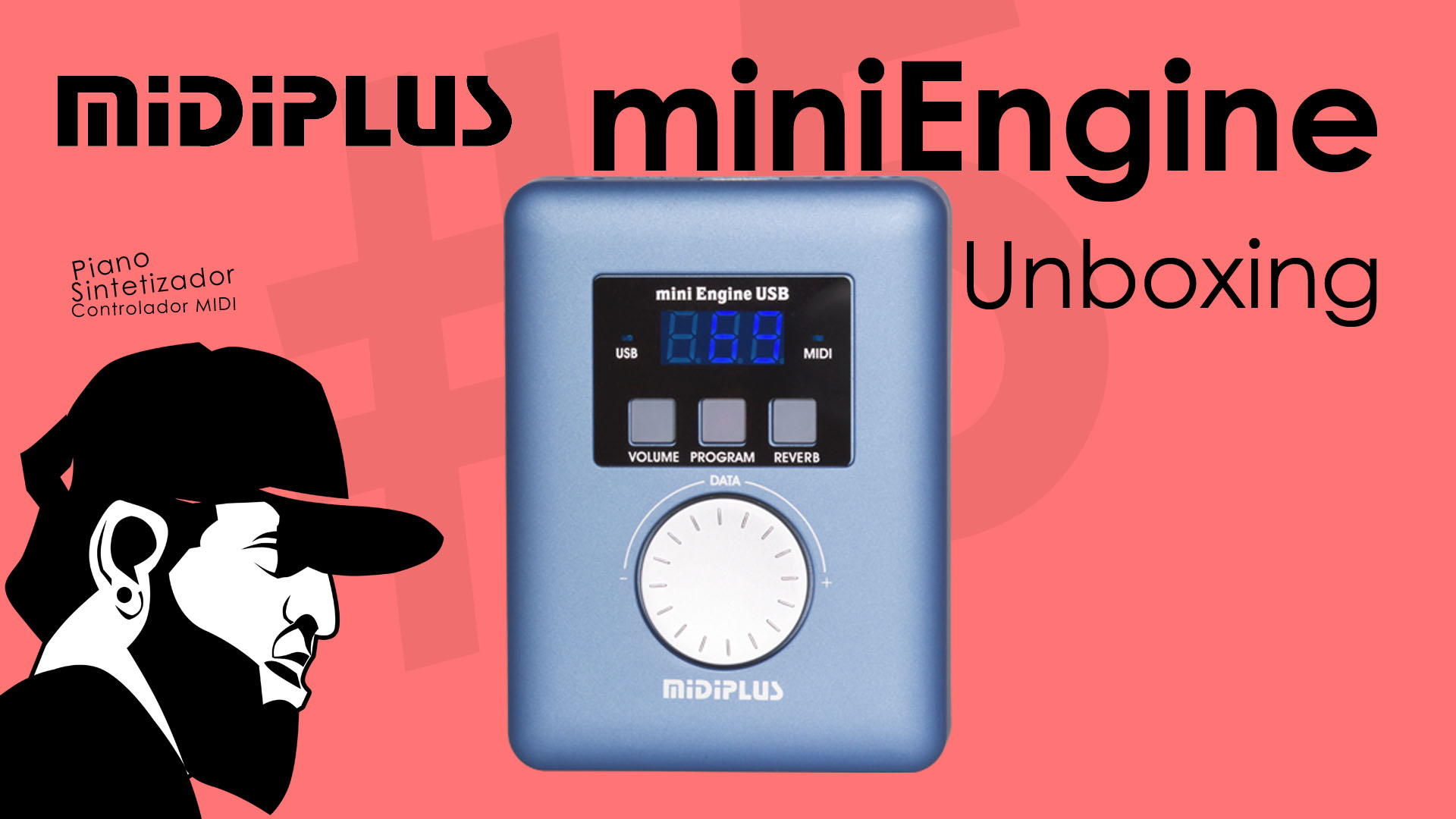 MIDIPLUS miniEngine USB MIDI Source – Teclado Musical Bom e Barato #1 (Unboxing)