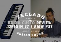 Teclado Musical De Baixo Custo #6 – Review – MidiPlus Origin P37