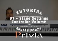 Tutorial Casio Privia PX 5S #7 – Stage Settings – Como Controlar Volume Individual?