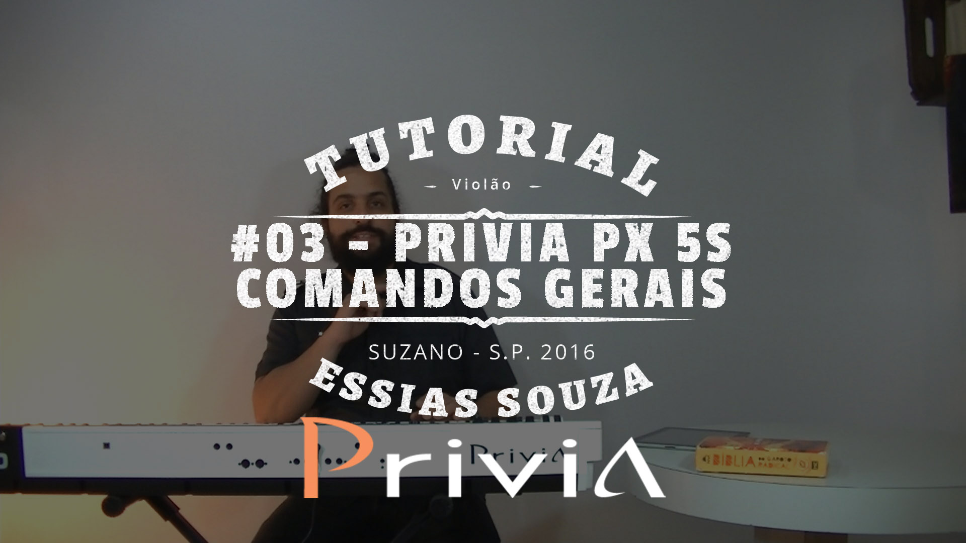 Tutorial Casio Privia PX 5S #3 – Comandos Gerais