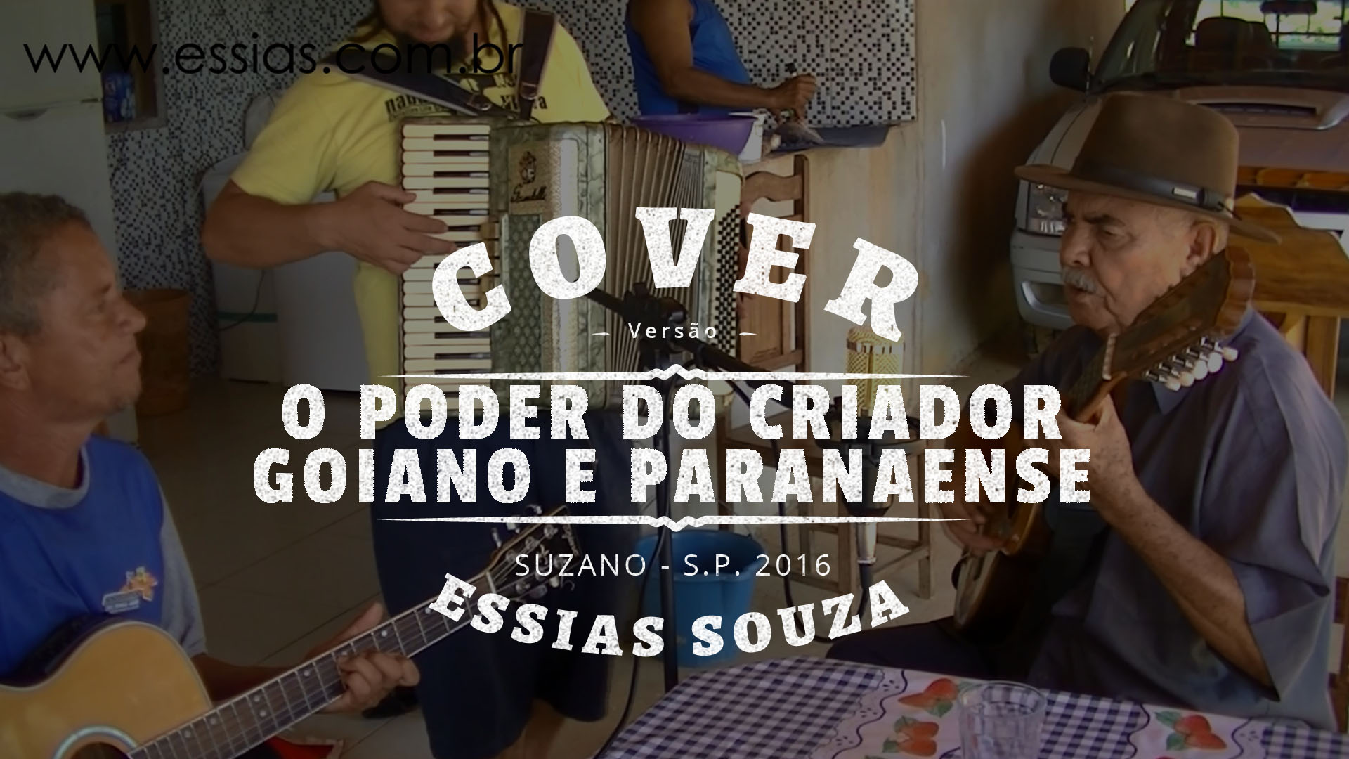 O Poder do Criador – Goiano e Paranaense (Cover) – Dino do Retiro