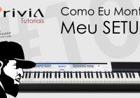 Tutorial Casio Privia PX 5S #9 – Como Eu Monto Meu Setup Feat. MIDIPlus miniEngine e Origin 37