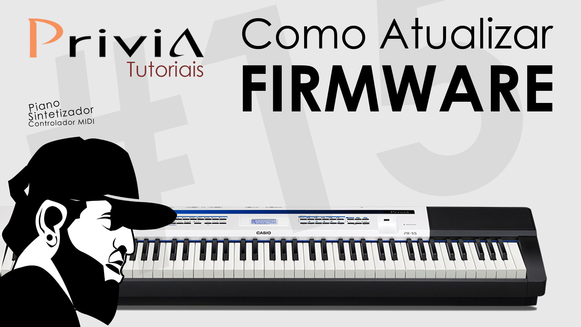 Como Atualizar o Firmware do Casio Privia PX-5S?