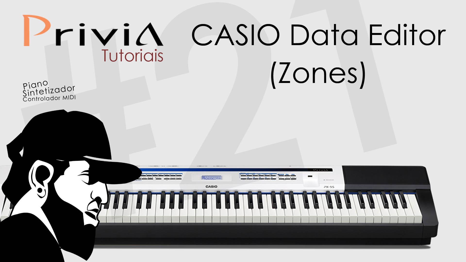 Introdução – Como Usar o Casio Data Editor for PX-5S? (Zonas)