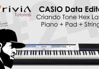 Criando Timbre – Piano, Pad e Strings (Data Editor) no Privia PX-5S