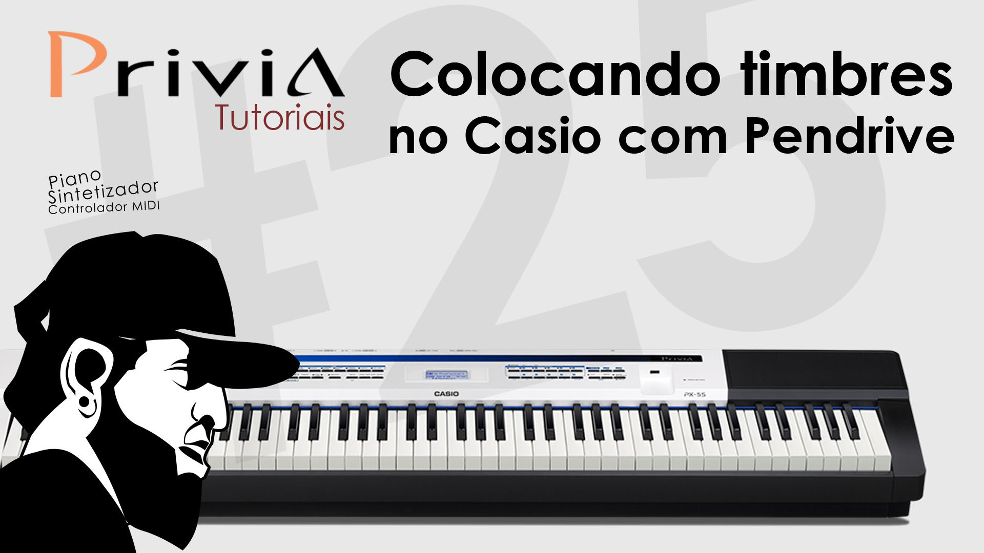 Como Colocar Timbres Usando Pendrive | Tutorial Casio Privia PX-5S #25