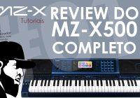 Casio MZ-X500 Review Completo | Tudo Sobre O Casio MZ-X500