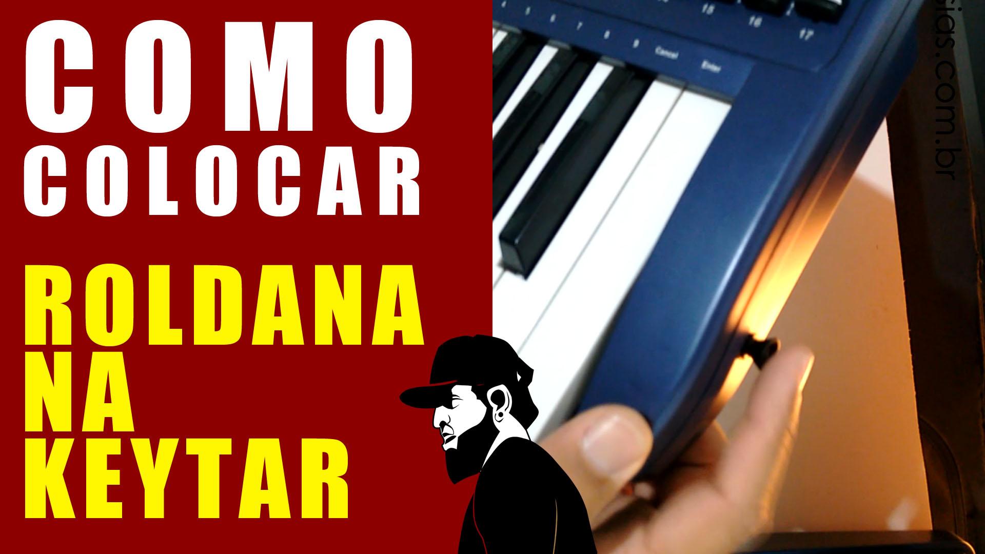 Como Colocar Roldanas – Keytar | Teclado Musical Mais Barato #14