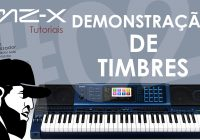 Demonstração de Timbres  (Inclusive Órgãos Drawbar) | Tudo Sobre O Casio MZ-X500