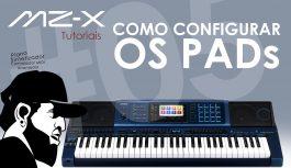 Como Configurar Os PADs | Tudo Sobre O Casio MZ-X500 #5