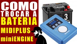Como Trocar A Bateria Do MIDIPlus miniEngine USB Source | Teclado Musical Mais Barato #21