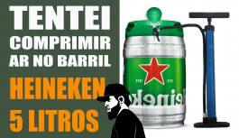 Tentei Comprimir Ar No Barril de Heineken – Olha No Que Deu! | Vlog Essias #90