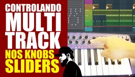 Como Controlar Multitrack No Teclado – KNOBS & SLIDERS (Origin 37 + FL Studio)