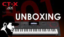 Unboxing CASIO CT-X5000 – Esse Teclado Você Precisa Conhecer! | Casio CT-X5000 #1