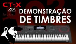 Demonstração de Timbres | Casio CT-X5000 #3