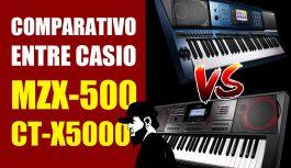 CT-X5000 X MZ-X500? Qual É O Melhor? | Tudo Sobre Teclado Musical #34