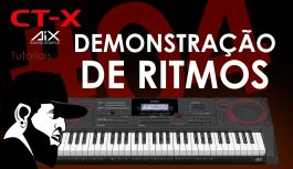 Demonstração de Ritmos | Casio CT-X5000 (CTX5000EP04)