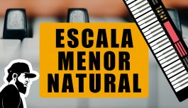Escala Menor Natural | Teclado Iniciante (TIEP:069)