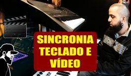 Como Gravar E Sincronizar O Som do Teclado Com o do Vídeo | Tudo Sobre Teclado Musical (TSTMEP039)