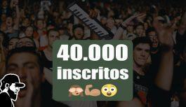 Obrigado! Já somos 40 mil inscritos! | Vlog Essias (VLESEP119)