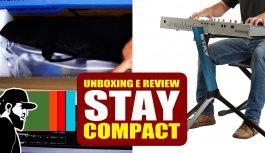 Stay Compact – Unboxing e Review   Tudo Sobre Teclado Musical (TSTMEP041)