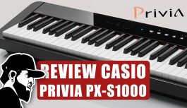 Review Completo | Casio Privia PX-S1000 (PXSMEP01)