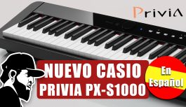 Un Nuevo Piano Digital (Español) | Casio Privia PX-S1000 (PXSMEP01)